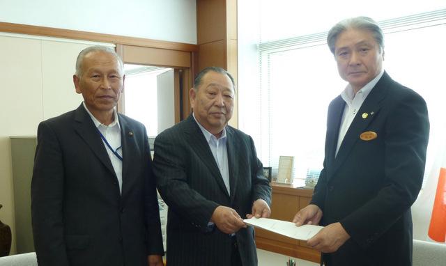 福田知事への要請